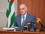Президент Аслан Бжания выступил с обращением к народу в связи с эпидемиологической обстановкой