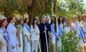 Участницы конкурса «Мисс и Миссис Россия Земля 2021» посадили на сухумской набережной саженцы османтуса душистого