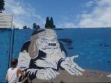 Масштабный стрит-арт будет нанесен на стену напротив 10-ой средней школы в Сухуме